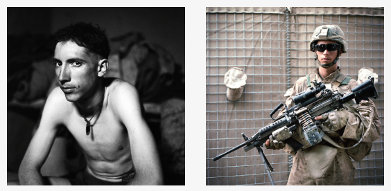 Sangin, Afghanistan: Portraits of a Marine Squad, by Elliott Woods